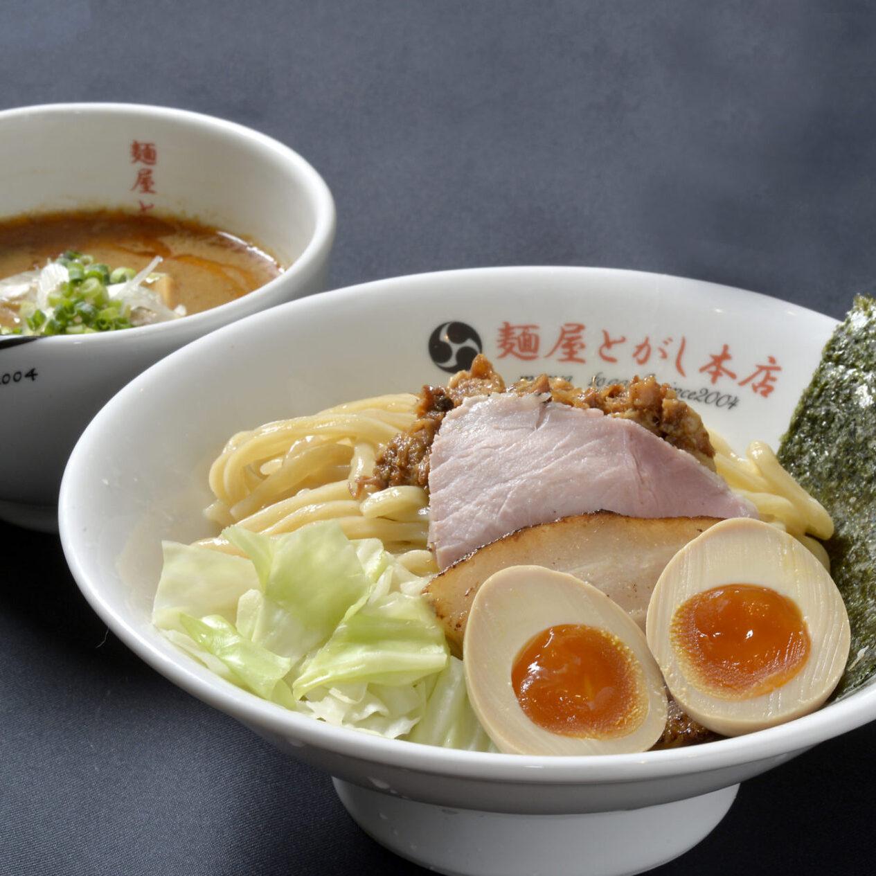 とがしの濃厚つけ麺(白)